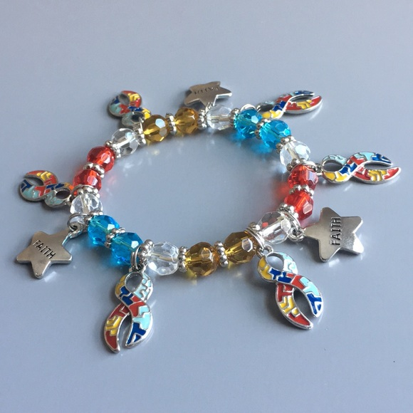 Jewelry - Autism Awareness charm bracelet